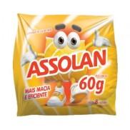 ESPONJA DE AÇO ASSOLAN 60G COM 8UND