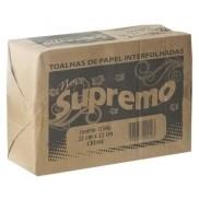 PAPEL TOALHA SUPREMO INTERFOLHA CREME 2D 1250G