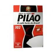 FILTRO PILÃO PARA CAFE 102 40UND