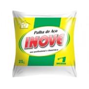 PALHA DE AÇO INOVE 25G Nº 1